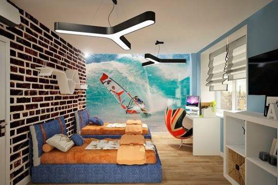 +15 Mẫu Phòng Ngủ Đẹp Dành Cho Bé Trai – NTPN 2019