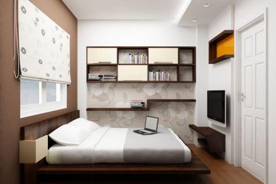 Bài trí phòng ngủ 10m2