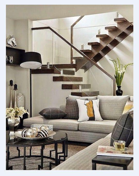 Mẫu cầu thang cho nhà hẹp