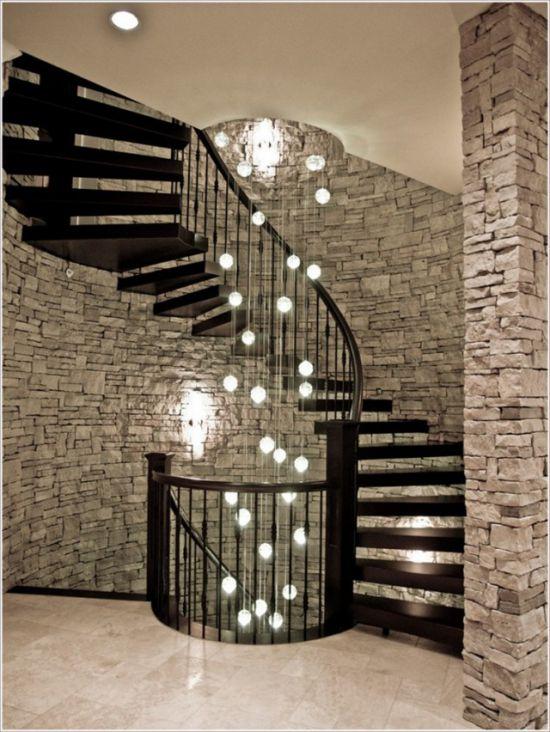 Mẫu cầu thang mang phong cách hiện đại