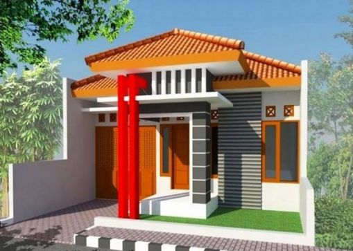 Thiết kế nhà đẹp giá 200 triệu (hình 2)