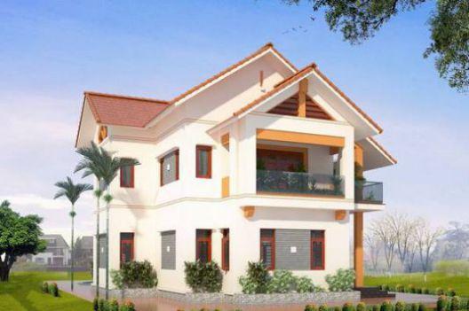 Mẫu nhà mái thái mang phong cách hiện đại