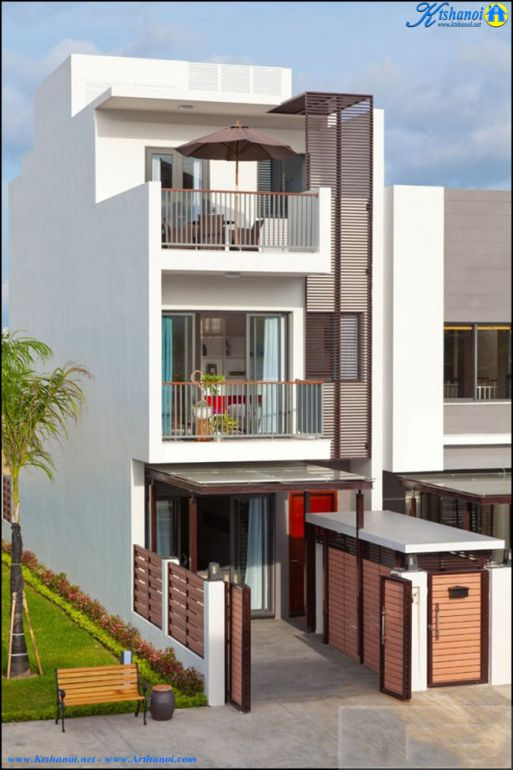 Mẫu nhà phố 3 tầng đẹp (hình 3)
