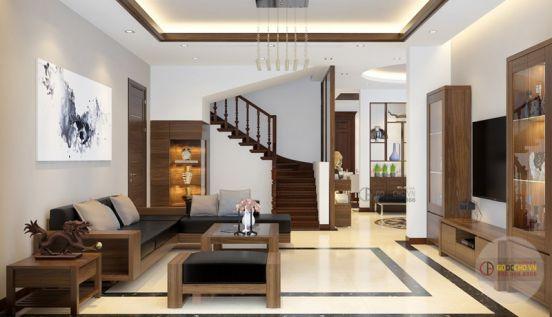 Mẫu phòng đẹp có cầu thang