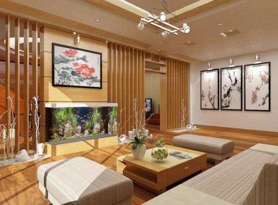 Những mẫu phòng khách đẹp cho nhà ống