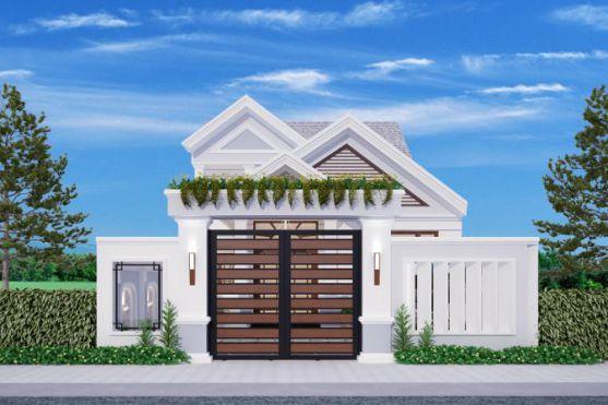 Thiết kế nhà đẹp 300 triệu