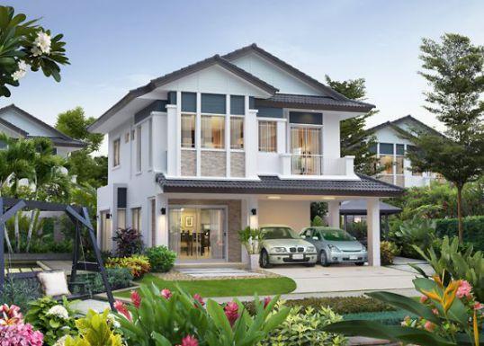 Thiết kế nhà mái thái hiện đại nhất 2017