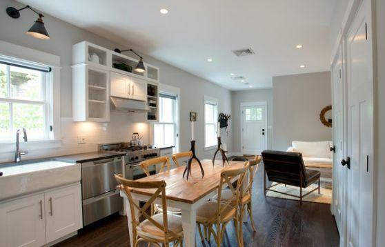 Cách trang trí nội thất nhà cấp 4 đơn giản với tông màu sáng