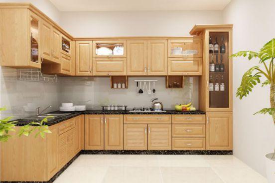 Trang trí nội thất nhà bếp nhỏ gọn