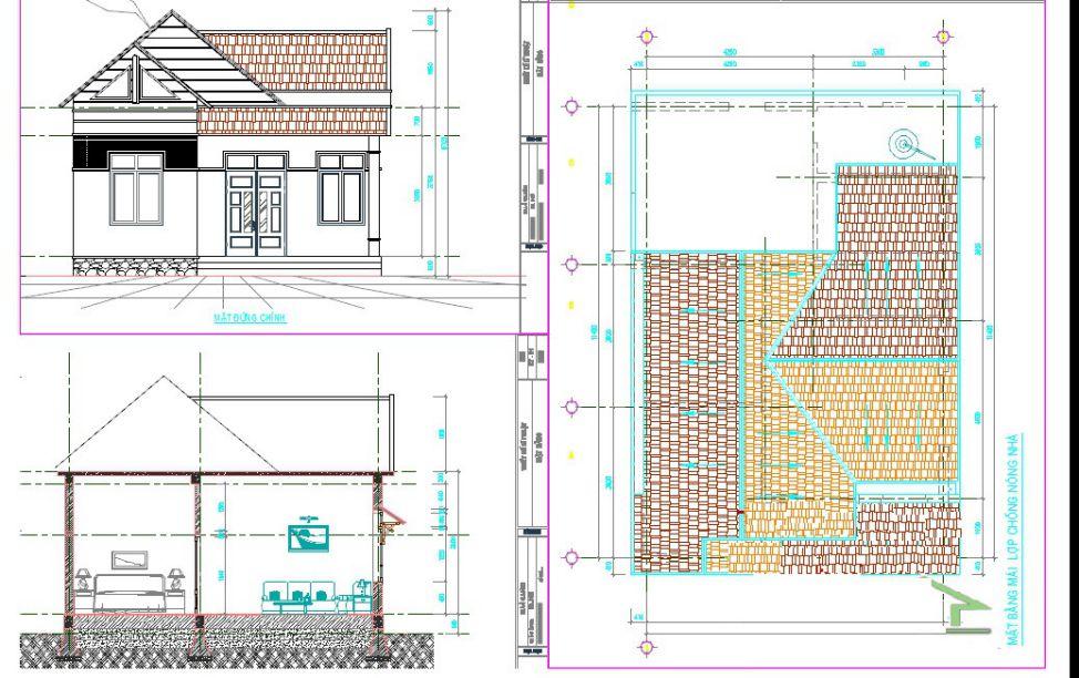 Kết quả hình ảnh cho bản vẽ thiết kế nhà