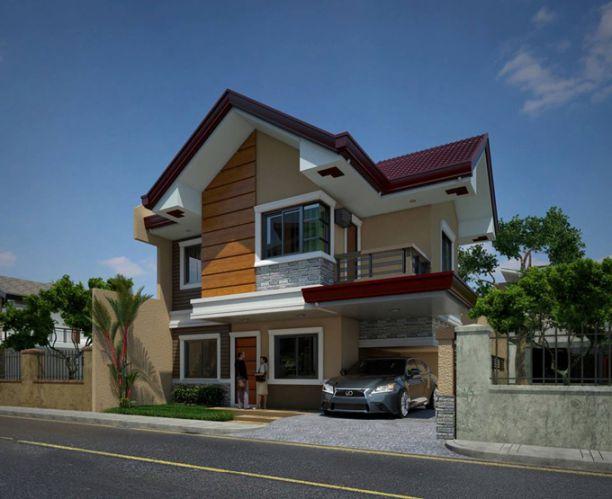 Mẫu thiết kế nhà 2 tầng 90m2
