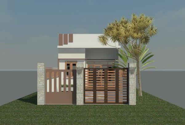 Bản vẽ thiết kế nhà 6x15m