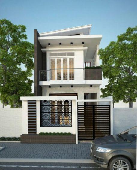 Dự toán chi phí xây dựng nhà phố 2 tầng khoảng 400 – 500 triệu đồng