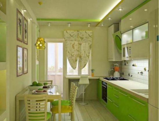 Mẫu nhà bếp màu xanh lá cây mang lại sự tươi mát cho không gian nhà bếp - Hình 9