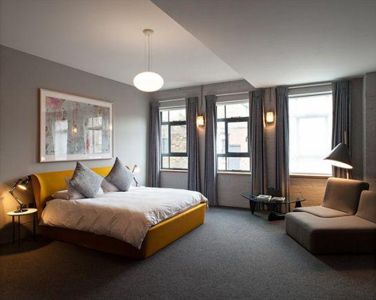 Mẫu thiết kế phòng ngủ màu vàng đẹp nhất dành cho năm 2017 - Ảnh 4