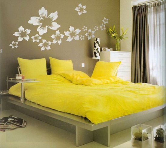 Mẫu thiết kế phòng ngủ màu vàng đẹp nhất dành cho năm 2017 - Ảnh 3