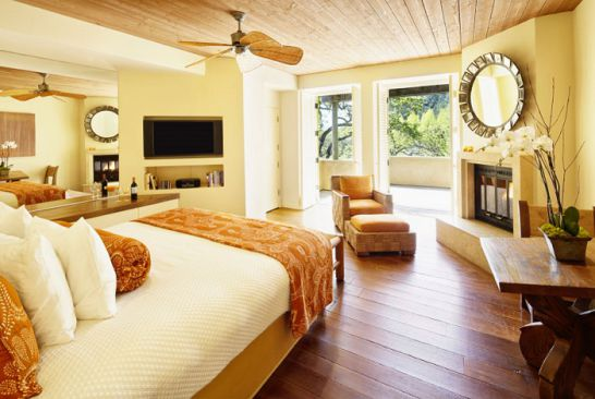 Mẫu thiết kế phòng ngủ màu vàng đẹp nhất dành cho năm 2017 - Ảnh 13