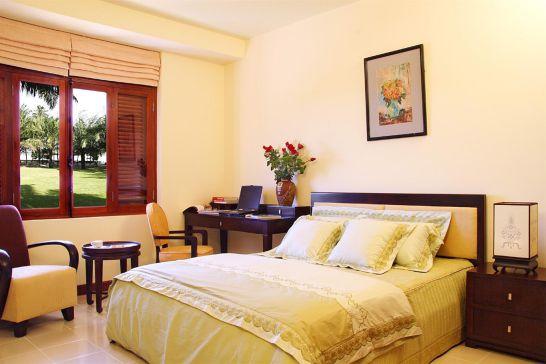 Mẫu thiết kế phòng ngủ màu vàng đẹp nhất dành cho năm 2017 - Ảnh 11