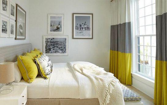 Mẫu thiết kế phòng ngủ màu vàng đẹp nhất dành cho năm 2017 - Ảnh 9