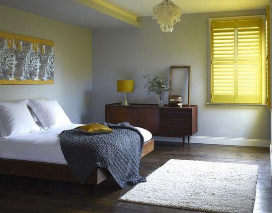Mẫu thiết kế phòng ngủ màu vàng đẹp nhất dành cho năm 2017 - Ảnh 8