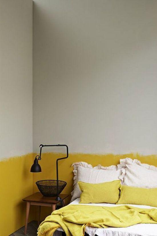 Mẫu thiết kế phòng ngủ màu vàng đẹp nhất dành cho năm 2017 - Ảnh 7