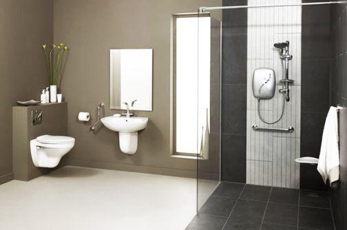 Nhà vệ sinh với kiến trúc độc đáo, mới mẽ.