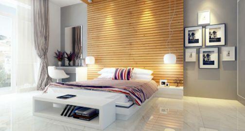 Phòng ngủ dành cho con lớn thiết kế đẹp mặt, không gian sang trọng.