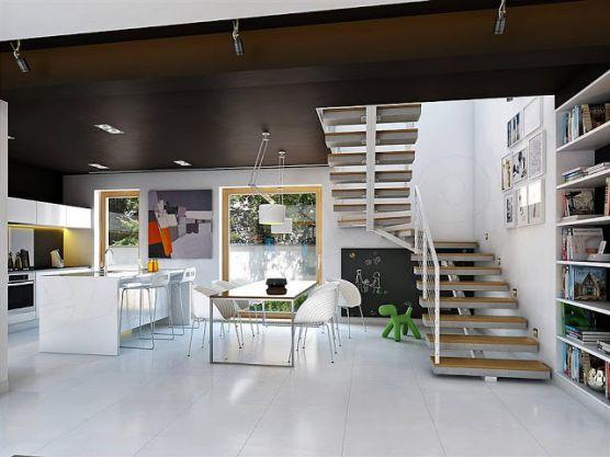 Thiết kế nội thất nhà đẹp 2 tầng