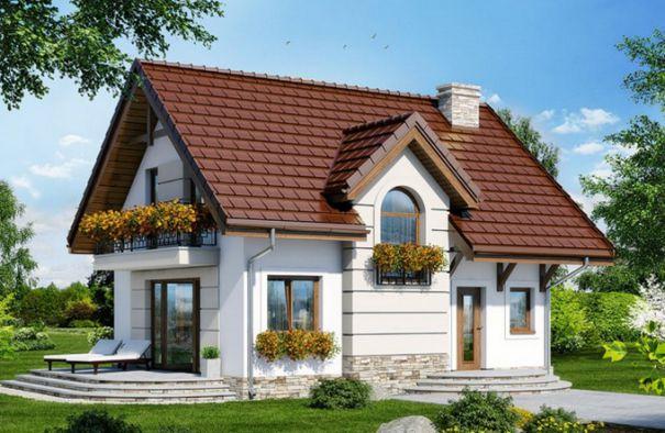 Hút hồn với mẫu nhà một tầng có sân vườn đẹp diện tích 7,8x10m