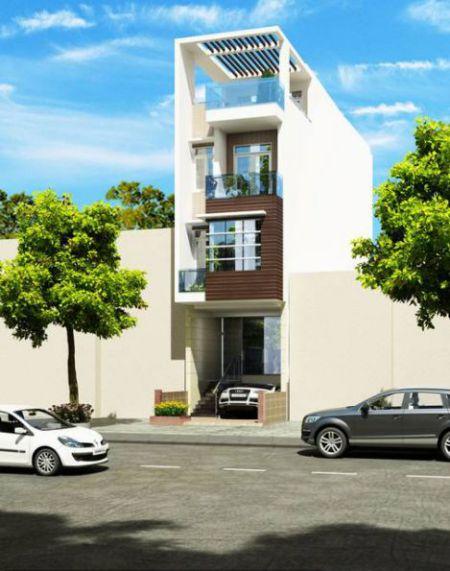 Thiết kế nhà có gara ô tô (hình 3)