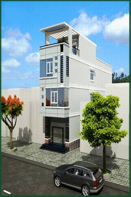 Mẫu nhà phố diện tích nhỏ ( hình 3)