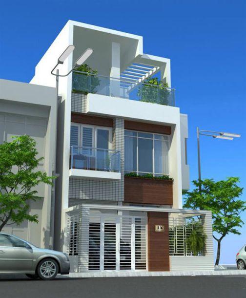 Mẫu nhà phố ngang 6m (hình 1)