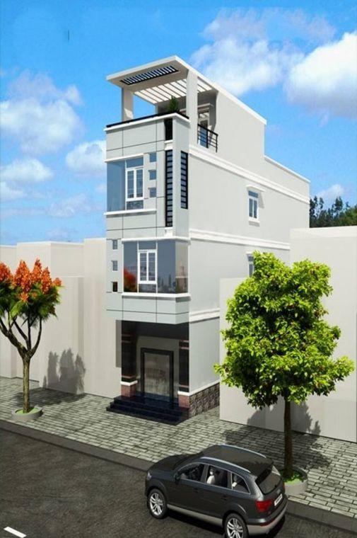 Mẫu nhà phố ngang 4m (hình 2)