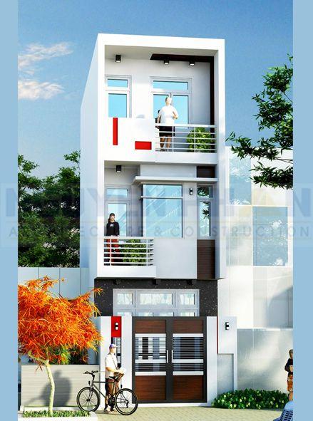 Thiết kế nhà phố rộng 4m (hình 3)