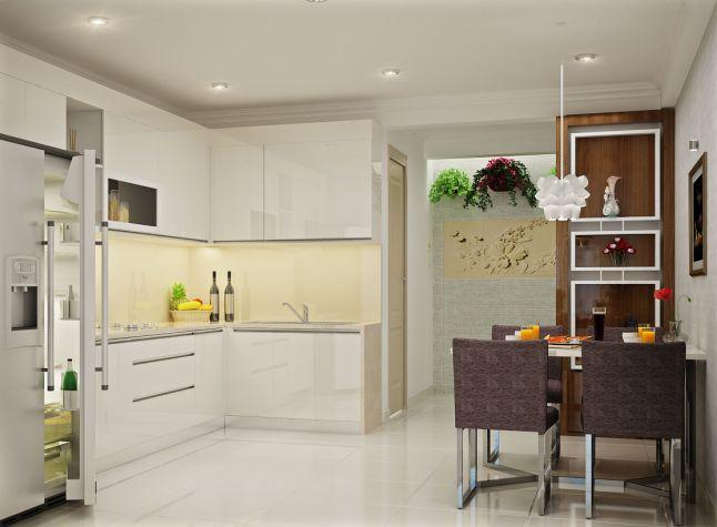 Mẫu trần thạch cao nhà bếp -> Hình 2
