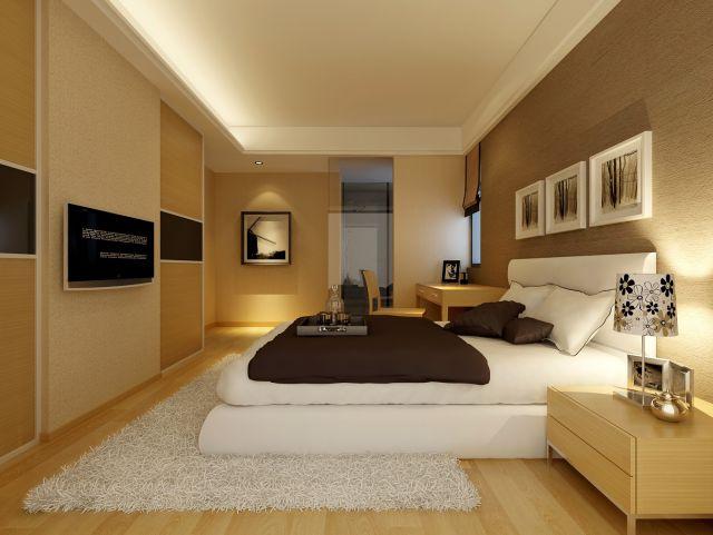 Mẫu trần thạch cao phòng ngủ -> Hình 1