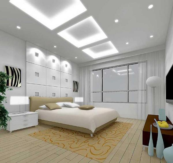 Mẫu trần thạch cao phòng ngủ -> Hình 2
