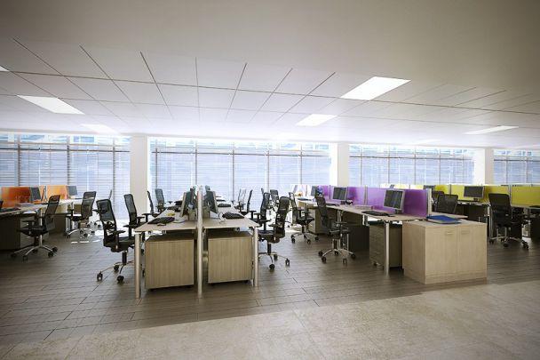Mẫu trần thạch cao cho văn phòng -> Hình 4
