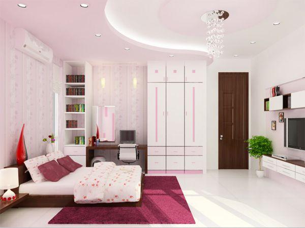 Mẫu trần thạch cao phòng ngủ đẹp -> Hình 10