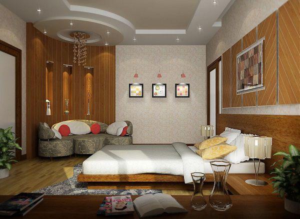 Mẫu trần thạch cao phòng ngủ đẹp -> Hình 2