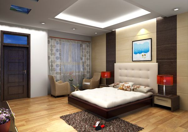 Mẫu trần thạch cao phòng ngủ đẹp -> Hình 3