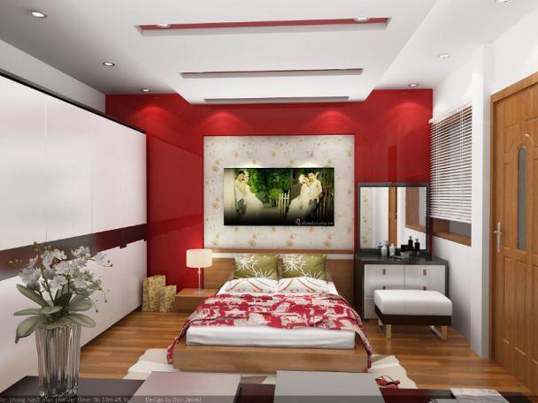 Mẫu trần thạch cao phòng ngủ đẹp -> Hình 4
