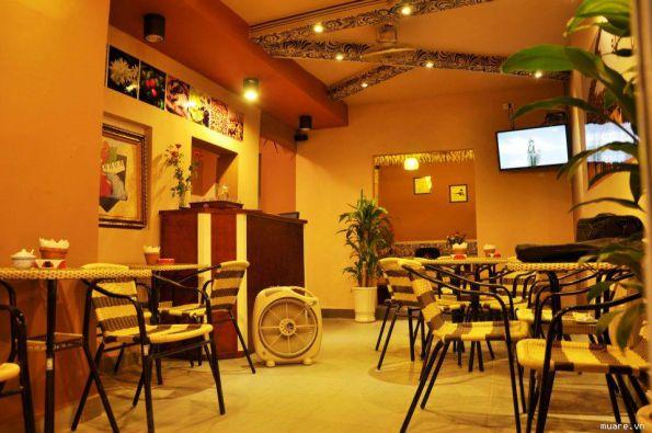 Mẫu trần thạch cao quán Cafe đẹp -> Hình 10 (Nguồn: intetnet)
