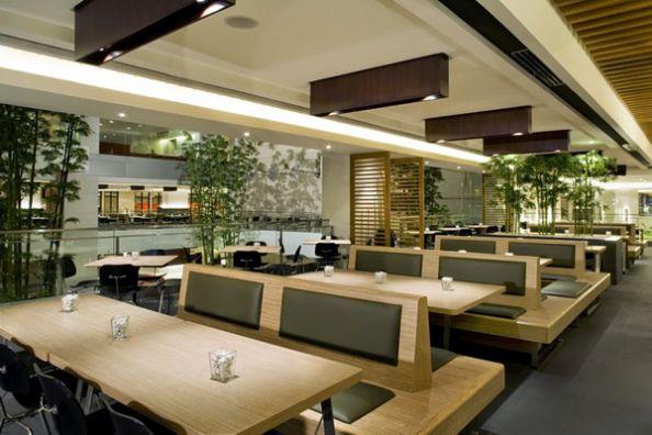 Mẫu trần thạch cao quán Cafe đẹp -> Hình 4 (Nguồn: intetnet)