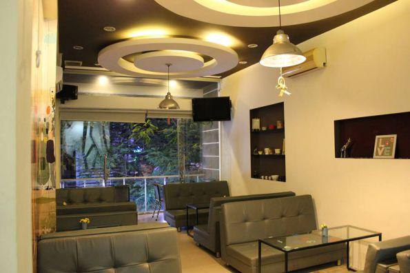 Mẫu trần thạch cao quán Cafe đẹp -> Hình 9 (Nguồn: intetnet)