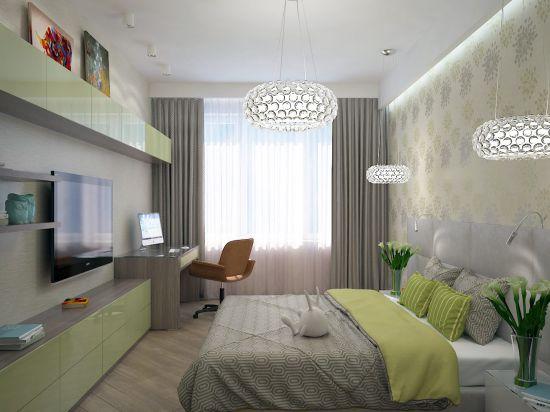Phòng ngủ được tối ưu một cách hiệu quả, nằm tiết kiệm diện tích.