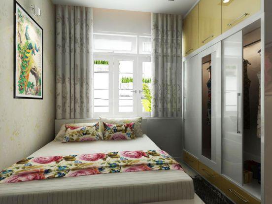 Những chiếc cửa được thiết kế nhằm lấy ánh sáng và không khí trong lành từ bên ngoài vào.