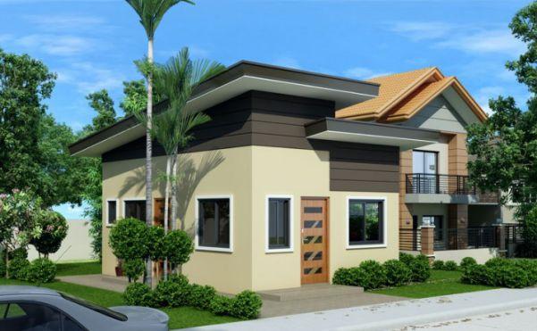 Thiết kế nhà cấp 4 hiện đại kết hợp sân vườn diện tích 5x9m