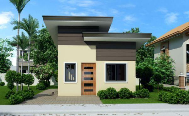 Thiết kế mẫu nhà cấp 4 đẹp 2 phòng ngủ -> Góc view 2