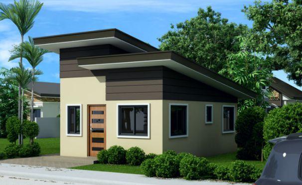 Thiết kế mẫu nhà cấp 4 đẹp 2 phòng ngủ -> Góc view 3